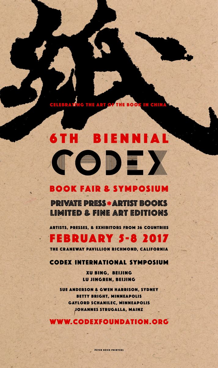 6th Biennial Codex Book Fair & Symposium